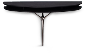 Ebonised Bamboo Console