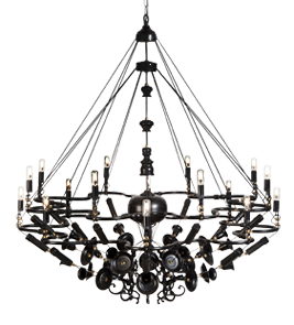 Exploded Chandelier