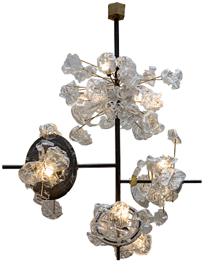 Curly Chandelier